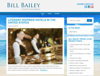 billbaileytravelclub.org screenshot