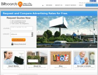 billboards.com screenshot
