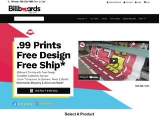 billboardsetcinc.com screenshot