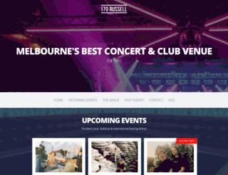 billboardthevenue.com.au screenshot