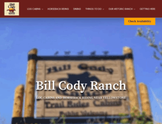 billcodyranch.com screenshot