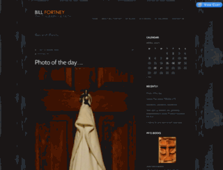 billfortney.com screenshot