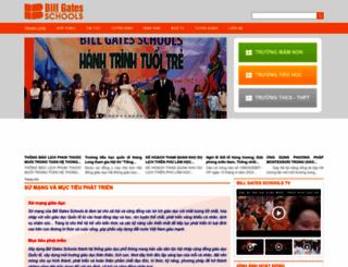 billgatesschool.edu.vn screenshot
