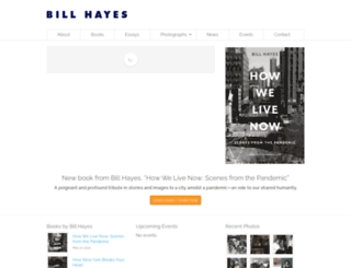 billhayes.com screenshot
