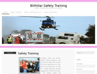 billhillartraining.com screenshot