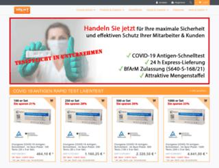 billig.de screenshot