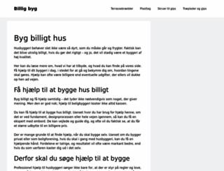 billigbyg.dk screenshot