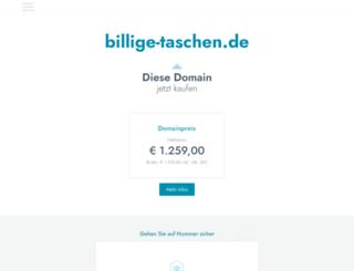 billige-taschen.de screenshot