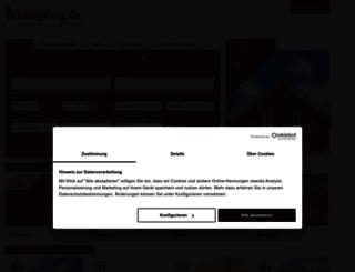 billigflug.de screenshot