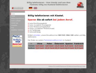 billigvorwahl.eu screenshot
