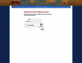 billing.puzzlepirates.com screenshot