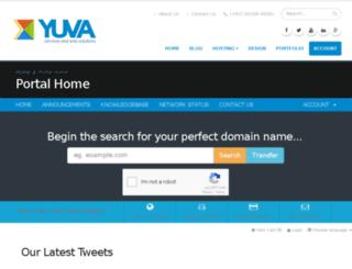 billing.yuvaservices.com screenshot
