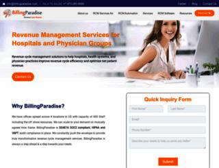 billingparadise.com screenshot