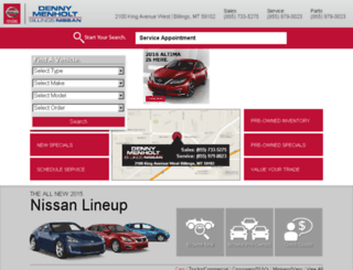 billingsnissan.dealereprocess.com screenshot