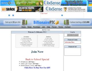 billionaireptc.com screenshot
