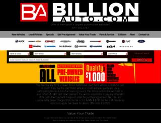 billionauto.com screenshot