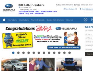 billkolb.subarusdc.com screenshot