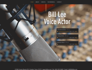 billlee.net screenshot
