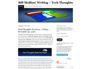billmullins.wordpress.com screenshot
