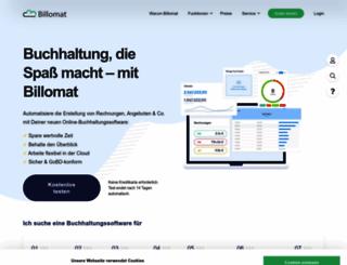 billomat.de screenshot