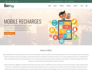 billpay.org.in screenshot