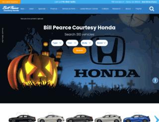 billpearcehonda.com screenshot