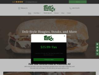 billscornerdeli.com screenshot
