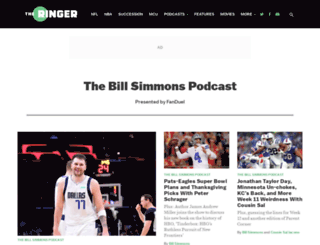 billsimmonspodcast.com screenshot