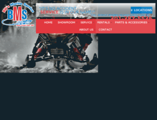 billsmarineservice.com screenshot