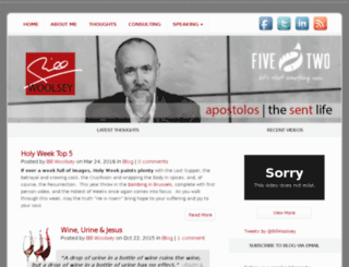 billwoolsey.org screenshot