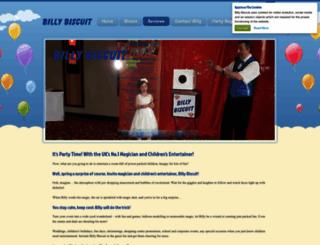 billy-biscuit.co.uk screenshot