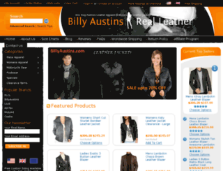 billyaustins.com screenshot
