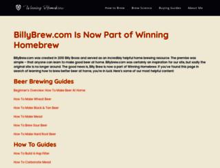 billybrew.com screenshot