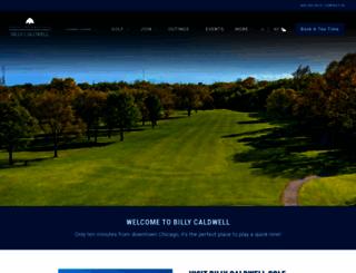 billycaldwell.forestpreservegolf.com screenshot