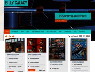 billygalaxy.com screenshot
