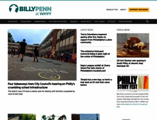 billypenn.com screenshot