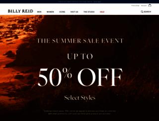 billyreid.com screenshot