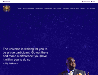 billyselekane.com screenshot