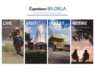 biloela.com screenshot