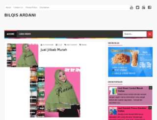 bilqisardani.blogspot.ca screenshot