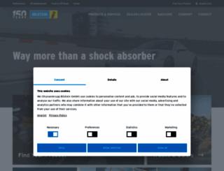 bilsteinus.com screenshot