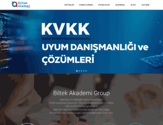 biltekakademi.com screenshot