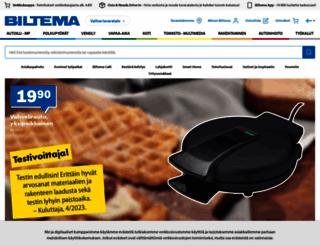 biltema.fi screenshot