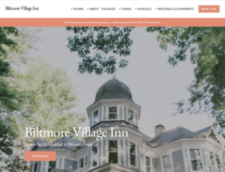biltmorevillageinn.com screenshot