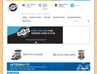 biltongbru.com.au screenshot