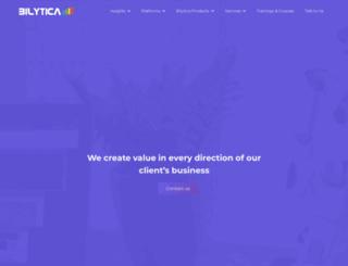bilytica.com screenshot