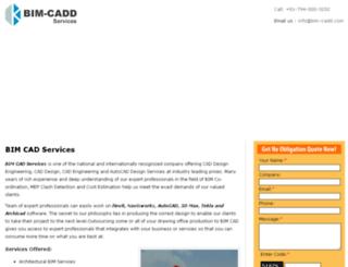 bim-cadd.com screenshot
