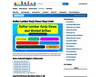 bimbelbrilian.com screenshot