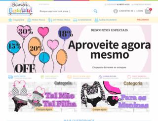bimbiebambini.com.br screenshot