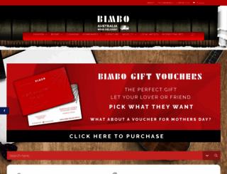 bimbo-online.com.au screenshot